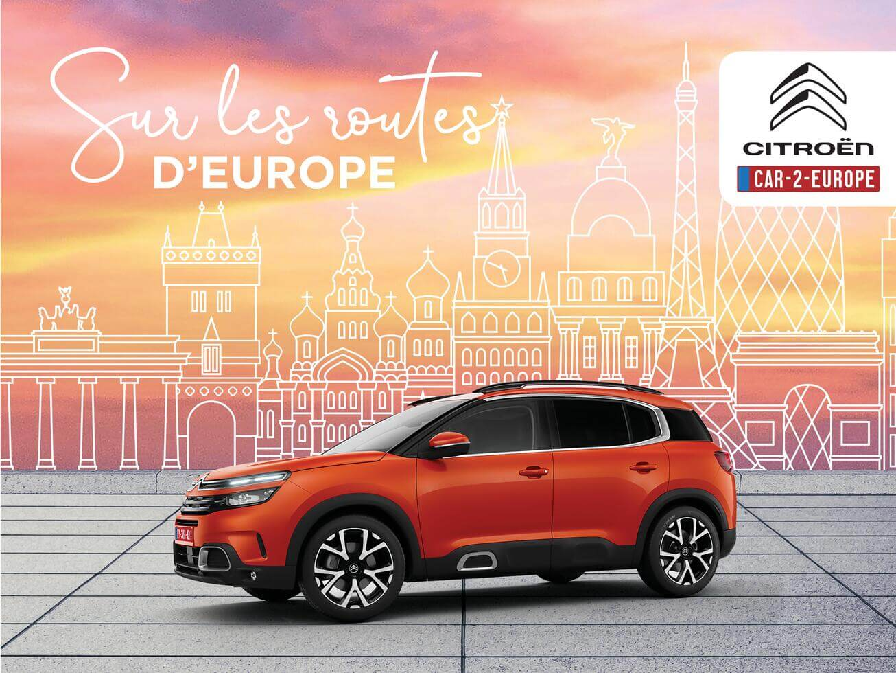 Sur les routes d' Europe Citroën
