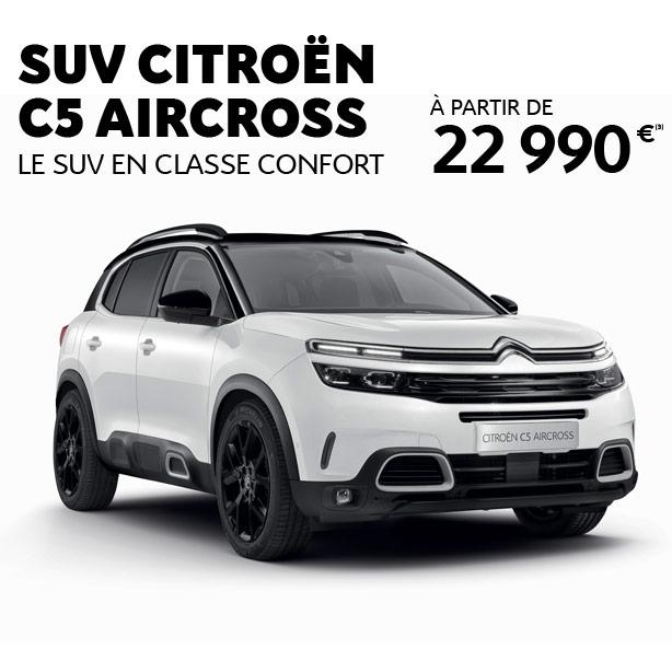 Nouveau SUV Citroën C5 Aircross